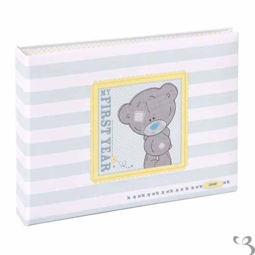 Me to You Album de photos Motif ourson Tiny Tatty Teddy avec message en anglais Baby's First Year