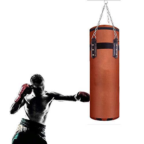 Meet World Boxsack UNGEFÜLLT Schwere Boxing MMA Punching Trainingshandschuhe Kickbox,150cm
