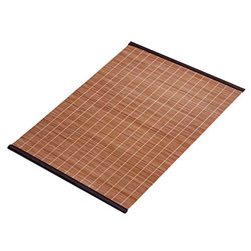 TTOOY Mantel Individual de Aislamiento de Cocina, Camino de Mesa de bambú japonés, tapete de Mesa/tapete Antideslizante para decoración de Mesa, Resistente a Las Manchas/Lavable (Color: