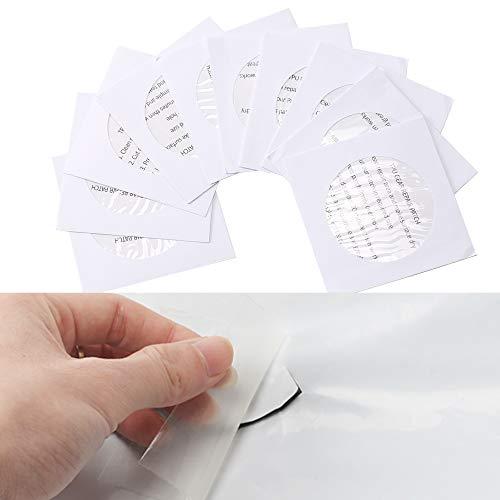 HO2NLE Reparatur Patch Selbstklebend Reparaturflicken Reparatur-Folie Flicken Tenacious Tape TPU Transparent Aufkleber Patch für Zelt Plane Stoff Partyzelte Riss Rucksäcke Schlauchboote Jacken