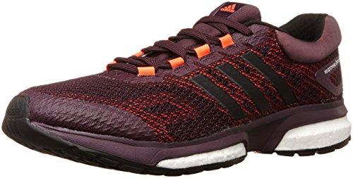 adidas Performance Response Boost - Zapatillas de running para hombre, Rich Red F14/Black 1/Running White, 40