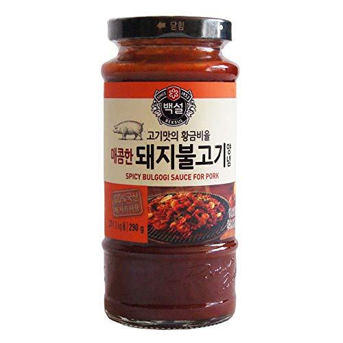 Sauce marinade Bulgogi barbecue pork épicé BEKSUL 290g Corée