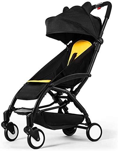 LYP Triciclo Bebé Trolley Trike Cochecito liviano Puede Sentarse y lie175 Grados Cochecito Plegable Cochecito Ultraligero Portátil Portátil en el Aeroplano Que viaja Baby Shotchair (Color : #1)
