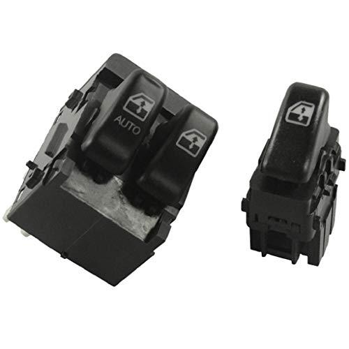 #N/a 1 Par de Interruptores Principales de Ventanas Eléctricas Delanteras Izquierda Y Derecha para Chevrolet