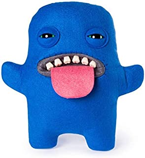 """Fuggler - Medium 9"""" Ugly Funny Monster - Blue with Tongue Out"""