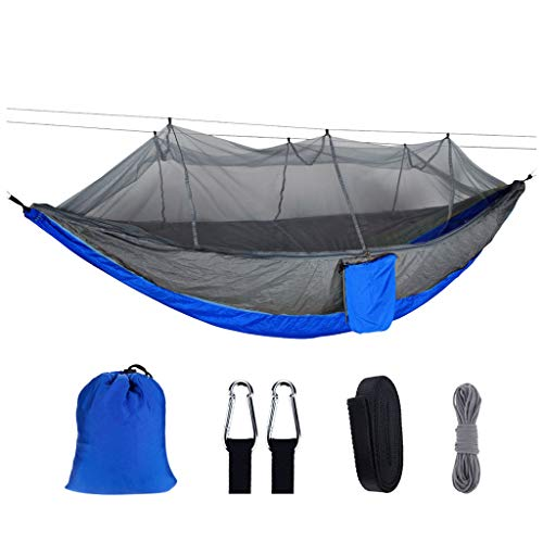 Akaslife Anti-Mosquito Bites Hammocks, Portable Outdoor Camping Mosquito Net Nylon Hanging Chair Sleeping Swing Experience Nature Night