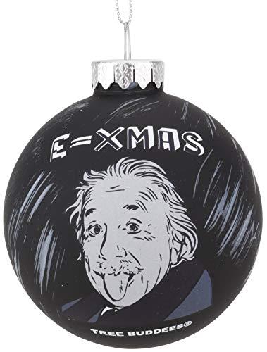 Albert Einstein Christmas Ornament