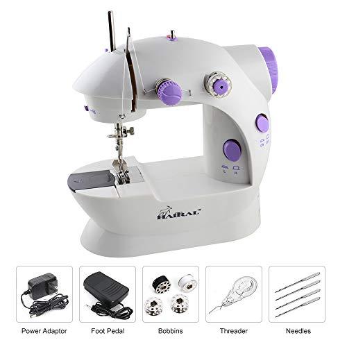 10. HAITRAL Mini Portable Sewing Machine