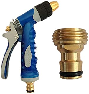 CRZD New Hot Brass Threaded Hose Water Pipe Connector Tube Tap Adaptor Fitting Garden Watering Equipment Spray Nozzle
