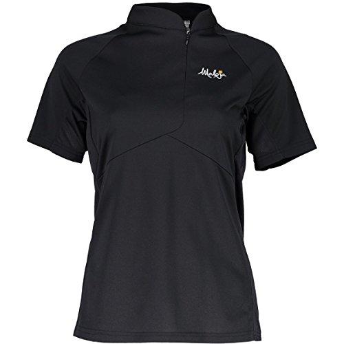 Maloja nuottam. 1/2Technische Hemd und T-Shirt, Damen M schwarz (Moonless)