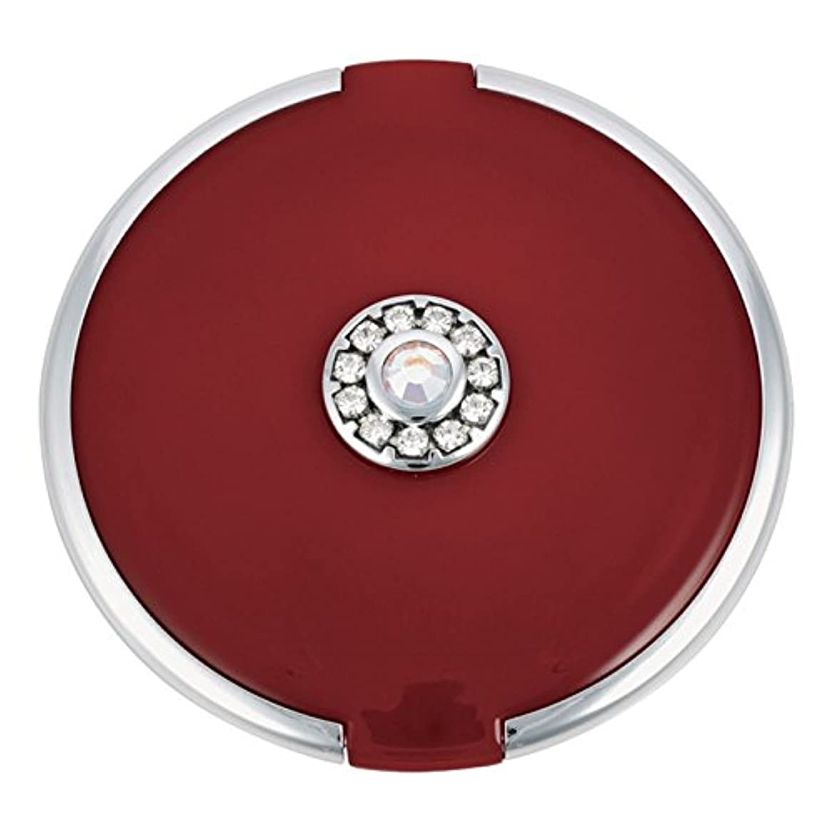 残る除去結果ジョン?ルイスラウンド銀トリム結晶が赤いコンパクトミラーを設定します (John Lewis) (x6) - John Lewis Round Silver Trim Crystal Set Compact Mirror Red (Pack of 6) [並行輸入品]