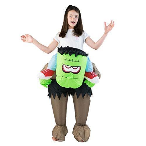 Bodysocks® Disfraz Hinchable de Frankenstein Niño: Amazon.es ...