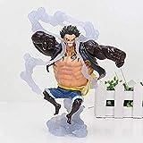 kyman Regalo Nuevo Anime One Piece Luffy Gear 4 Luffy PVC Figura de acción Modelo Fresco for el Jugu...