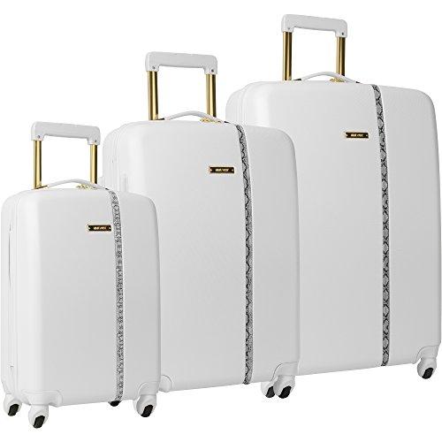 Nine West Noelle 3 Piece Hardside Spinner Luggage Set...