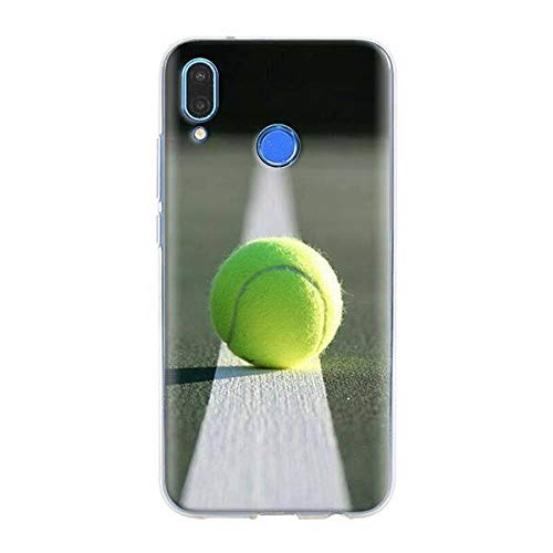 XMCJ Funda de silicona para Xiaomi Redmi Note 7 8 Pro 6 6A 7A 8T K20 Pro Cover Shell Sport Tennis (Color: S03, Material: Xiaomi Redmi 6A)