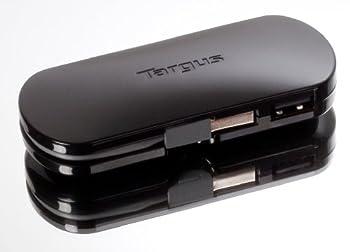 Targus 4-Port Mobile USB Hub Black ACH111US