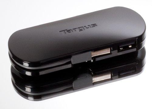 Targus 4-Port Mobile USB Hub, Black (ACH111US)