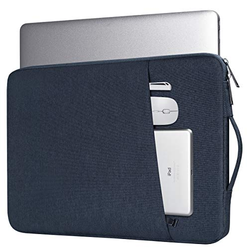 14-15 Inch Laptop Briefcase Sleeve Bag for Lenovo Flex/Yoga 14, Acer Chromebook/Lenovo Thinkpad 14,Lenovo Chromebook S340, Dell Inspiron 14 5482/HP Pavilion 14/Dell Latitude 14Notebook Bag(Blue)
