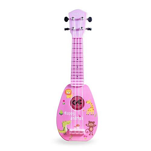 17 Inch Kids Ukulele Guitar Toy 4 Strings Mini Children...