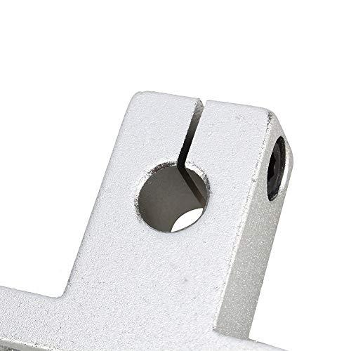 YYQTGG Stable Optical Sliding Rail, Linear Motion Rail Aluminum Alloy