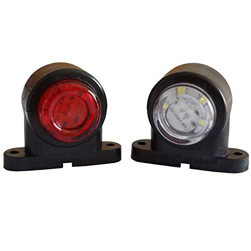 2x LED Begrenzungsleuchten 12V 24V Volt Positionsleuchten Umrissleuchten LKW PKW Anhänger