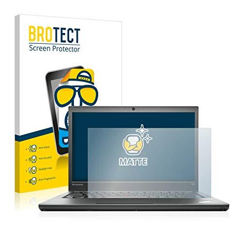 BROTECT Entspiegelungs-Schutzfolie kompatibel mit Lenovo ThinkPad T440 Bildschirmschutz-Folie Matt, Anti-Reflex, Anti-Fingerprint