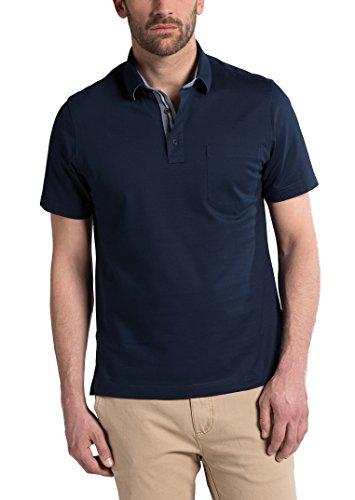 eterna Herren Polo Shirt Kurzarm Comfort Fit Piqué 2203/18/U54K Blau XXXL/48