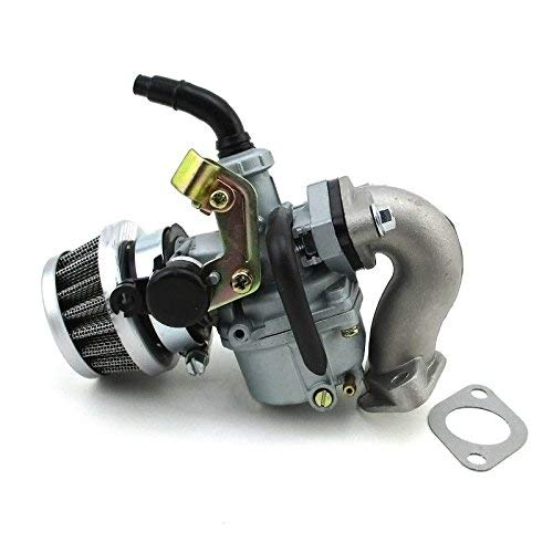 Starmood 19mm Vergaser PZ19 Vergaser Luftfilter Ansaugrohr 50cc 110cc Atv Quad Taotao Sunl