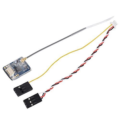 Dilwe Receptor RC 8CH, Mini Receptor Flysky FS-A8S 2.4G 8CH con Salida PPM i-Bus SBUS Compatible para FS-i4 FS-i6 FS-i6S
