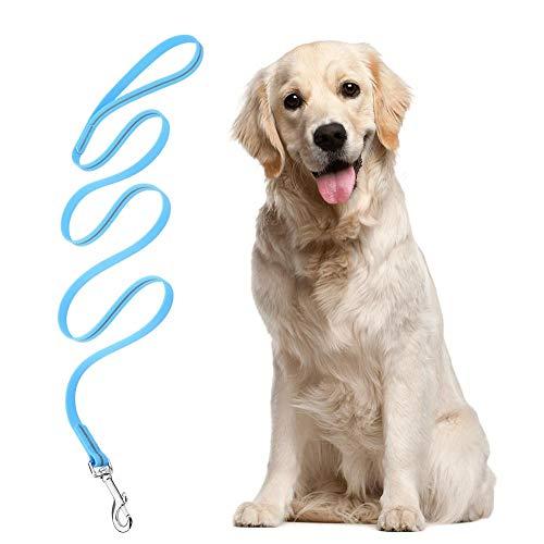 Hondenriem, robuust, sterk, waterdicht, slijtvast PVC reflecterend trainingstouw voor hondenpuppies (1,2 m blauw)