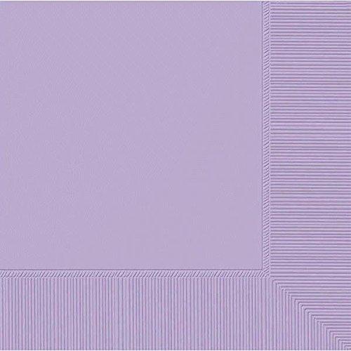 Amscan 2-Ply Lavender Beverage Napkins, 50 Ct. | Party Tableware