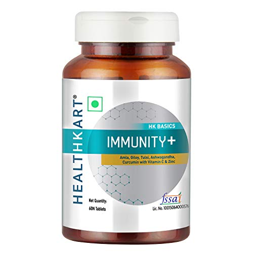 HealthKart Immunity +, 60 Tablets, Unflavoured