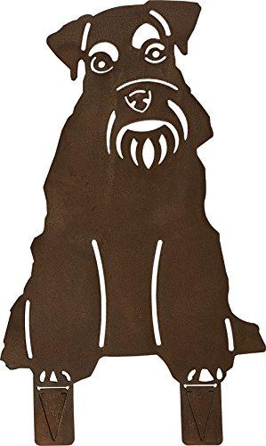 Hund Schnauzer (Edelrost-Deko) (Schnauzer)