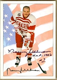 Autograph Warehouse 24475 Norm Ullman Autographed Hockey Card Detroit Red Wings Ultimate Original 6 No. 78