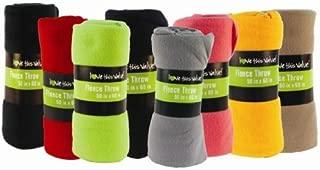 50 x 60 Inch Ultra Soft Fleece Throw Blanket Wholesale Case Pack 24