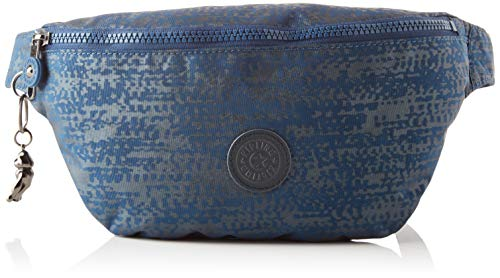 Kipling Fresh, Crossbody Donna, Blue Eclipse Pr, 7x35.5x15 cm