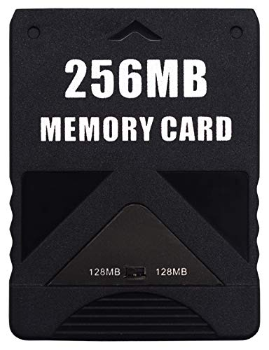 AUEAR, High Speed Game Memory Card Compatible with Sony Playstation 2 PS2 Consoles Game (256MB, 1 Pack)