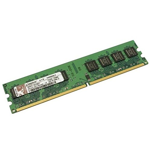Kingston-Módulo de memoria Ram DDR2 800Mhz PC-6400 KVR800D2N5 Unbuffered 1/g