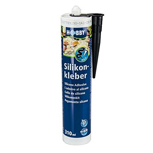 Hobby 11945 Silikonkleber, Kartusche, 310 ml, schwarz