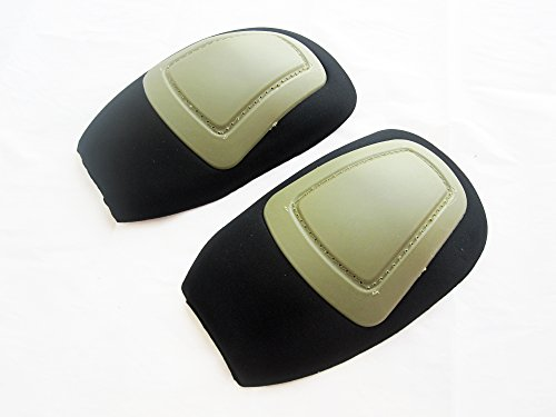 DLP Tactical Hardshell Knee Pads for G3 Combat Pants (Crye Airflex Compatible) (Tan)