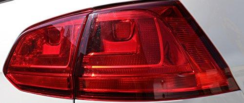 Finest-Folia C005 Rückleuchten Aufkleber Dark (Red)