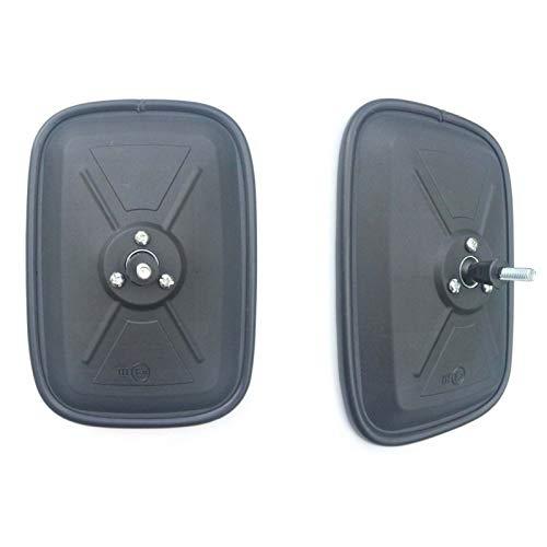 Juego de 2 espejos retrovisores laterales para camiones, 170 x 120 mm, M6