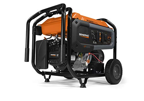 Generac 7676 GP8000E Portable Generator,...