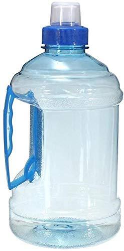Hinleise Botella de agua grande sin BPA, para deporte, gimnasio, entrenamiento, fiesta, bebida, botella de agua