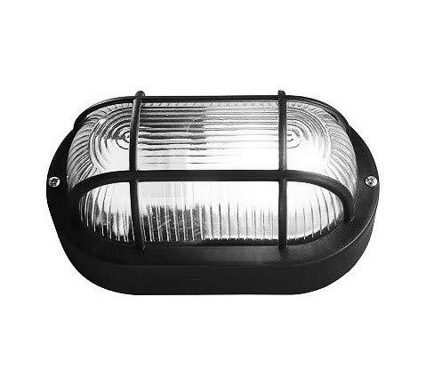 Bullseye lamp (bulley), zwart E27 (waterdicht)