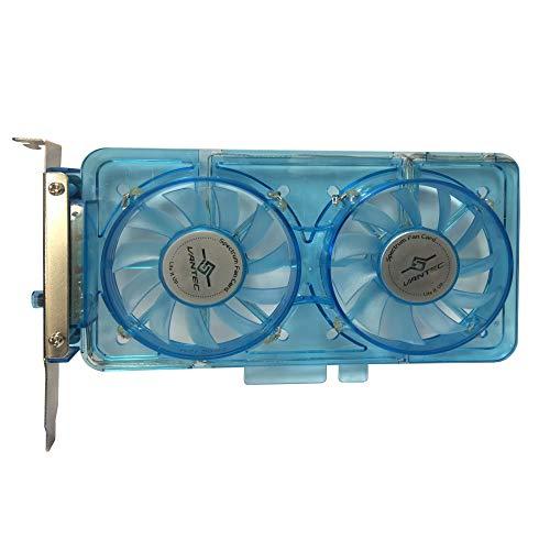Ventilador Led Azul  marca Vantec