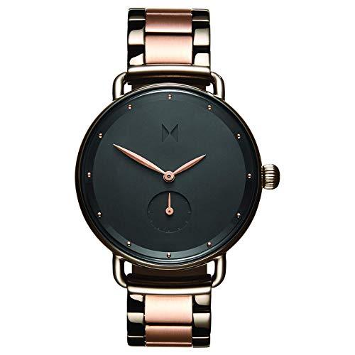 MVMT Bloom Watches | 36MM Women's Analog Minimalist Watch | Gunmetal Rose