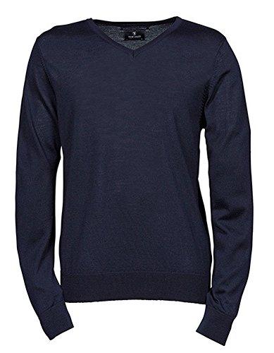 Tee Jays Mens col en V pour Homme - Bleu - XXX-Large
