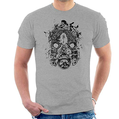 Borderlands 3 Mask of Mayhem Black Print Men's T-Shirt