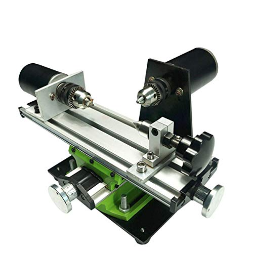 BXU-BG Wood Lathes, Dual Working Drill Sliding Compound Router Table
